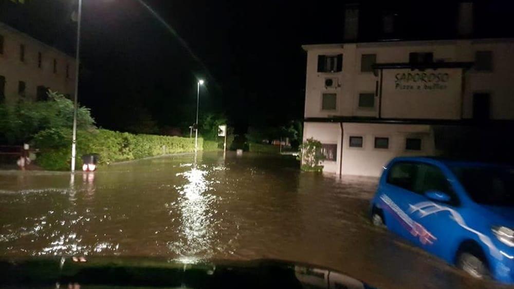 Alluvione Conegliano 2018